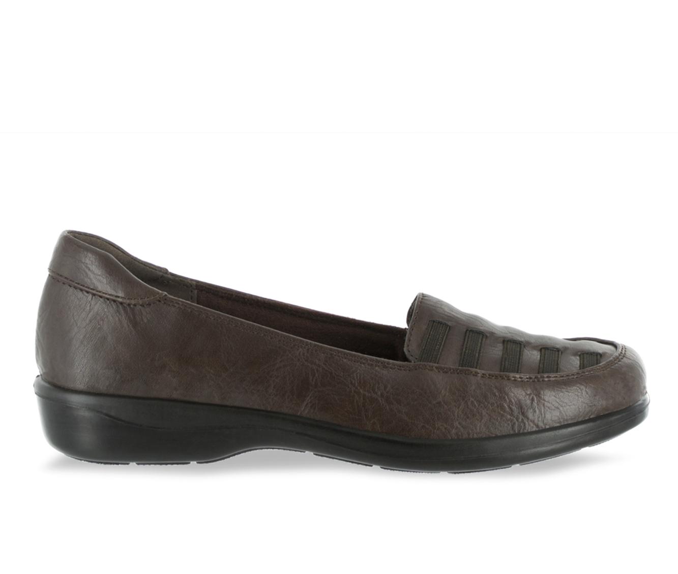 Easy Street Genesis Women's Shoe (Brown Faux Leather)