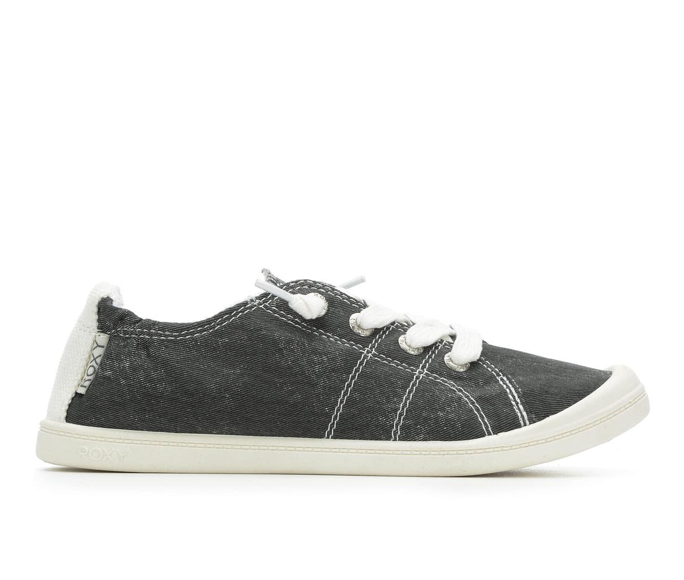 Roxy Bayshore Women's Shoe (Black Canvas)