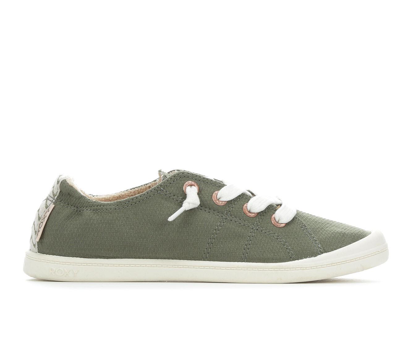 Roxy Bayshore Women's Shoe (Green Canvas)