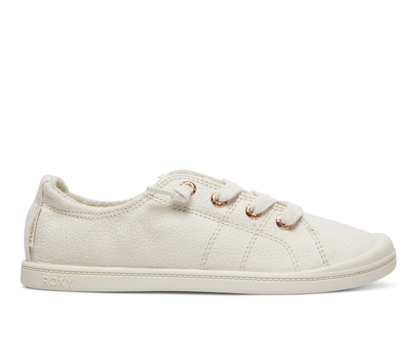 Roxy Bayshore Women's Shoe (White Canvas)