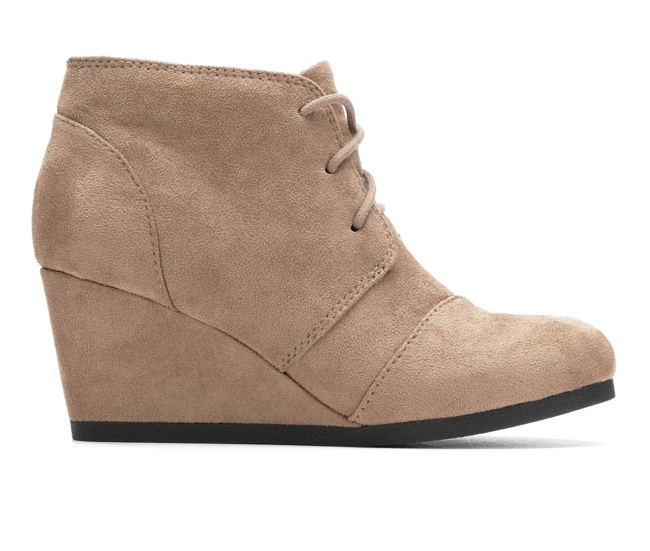Unr8ed Sandy Women's Boots (Beige - Canvas)