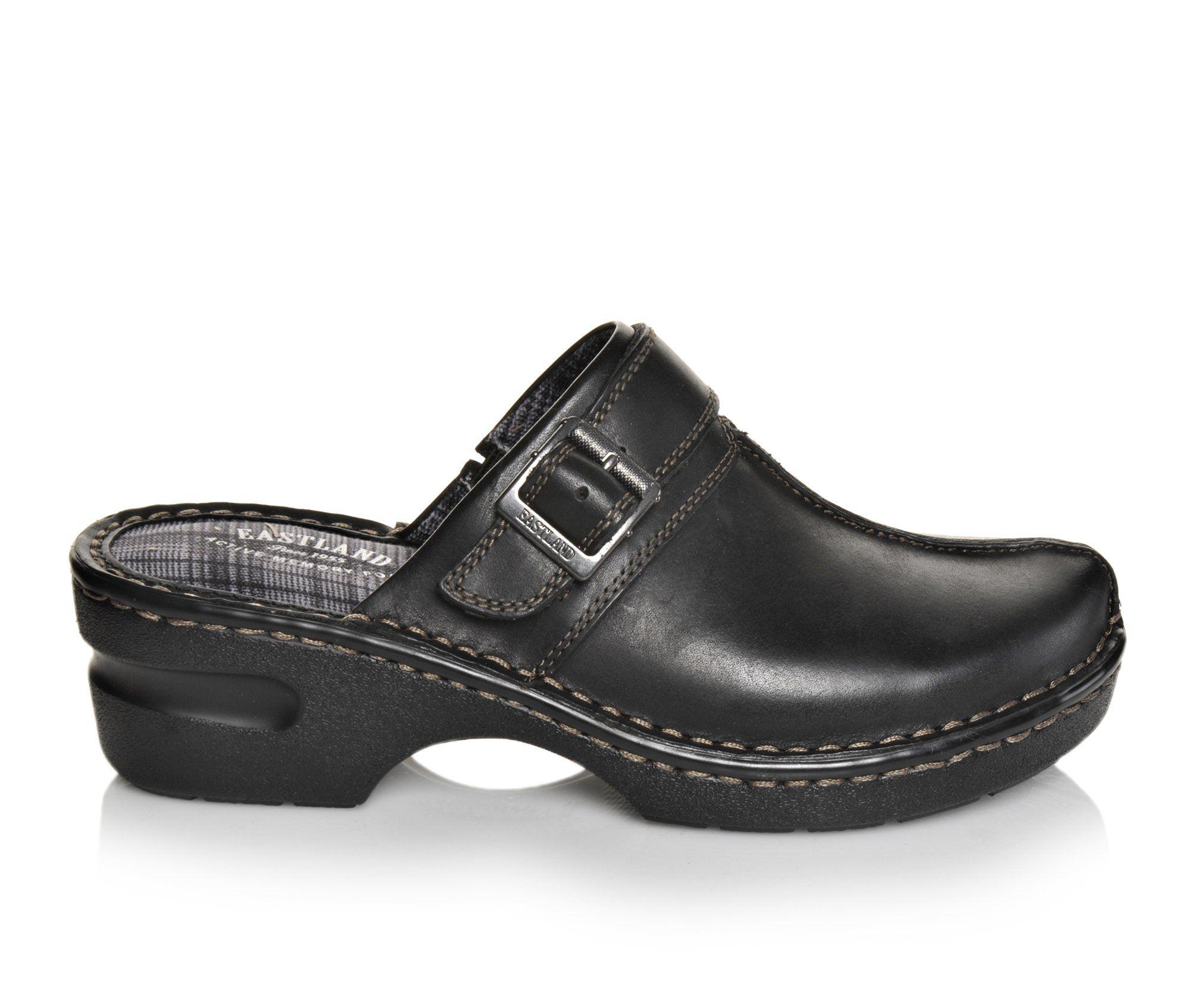 Eastland Mae Women's Shoe (Black Leather)