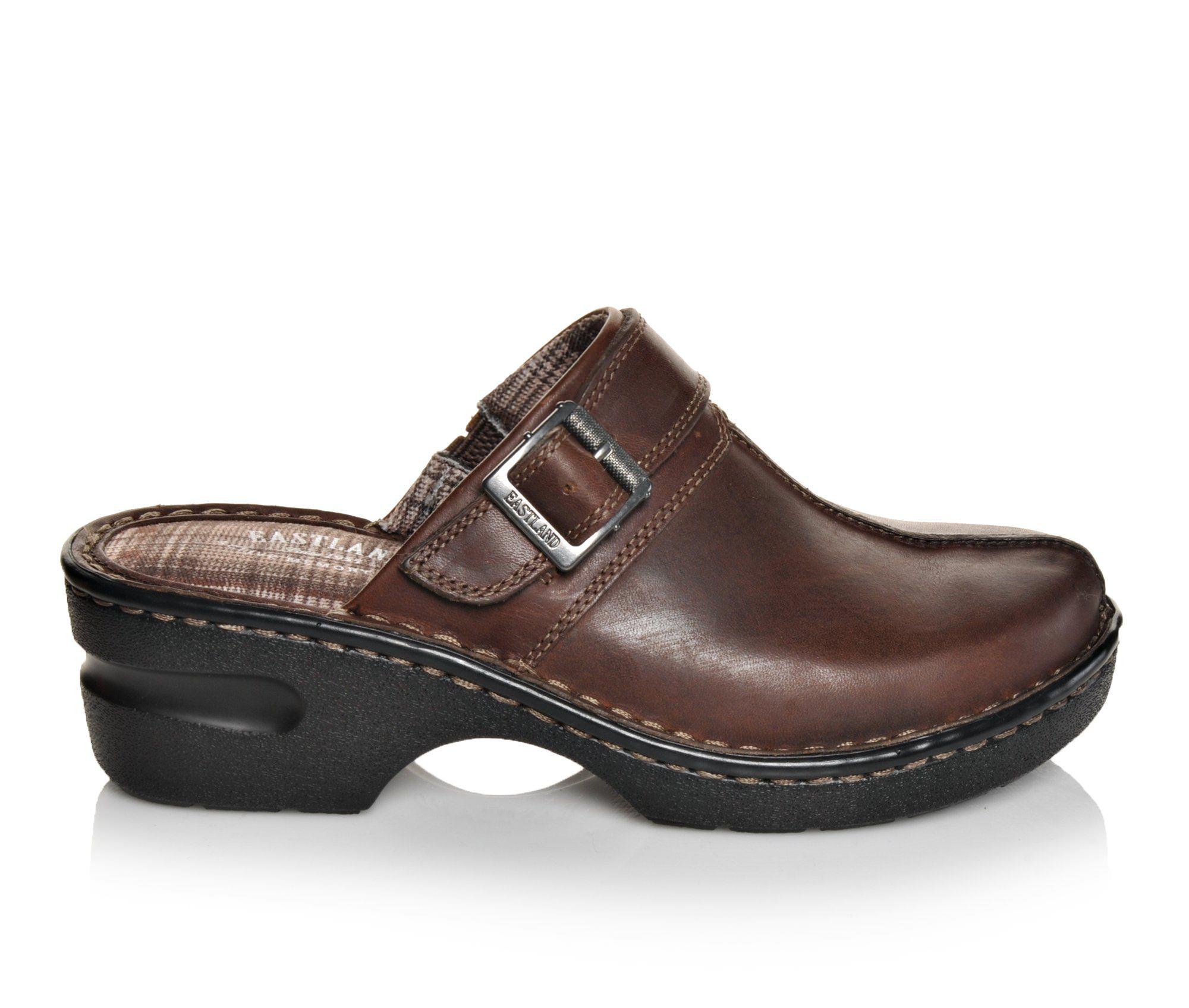 Eastland Mae Women's Shoe (Brown Leather)