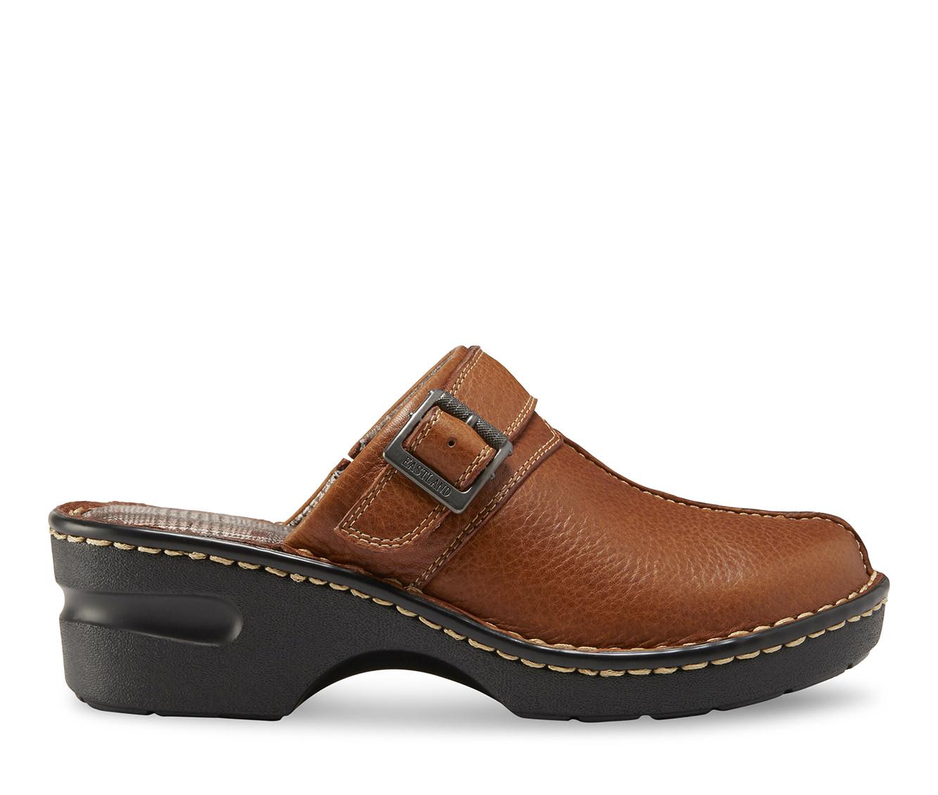 Eastland Mae Women's Shoe (Beige Leather)