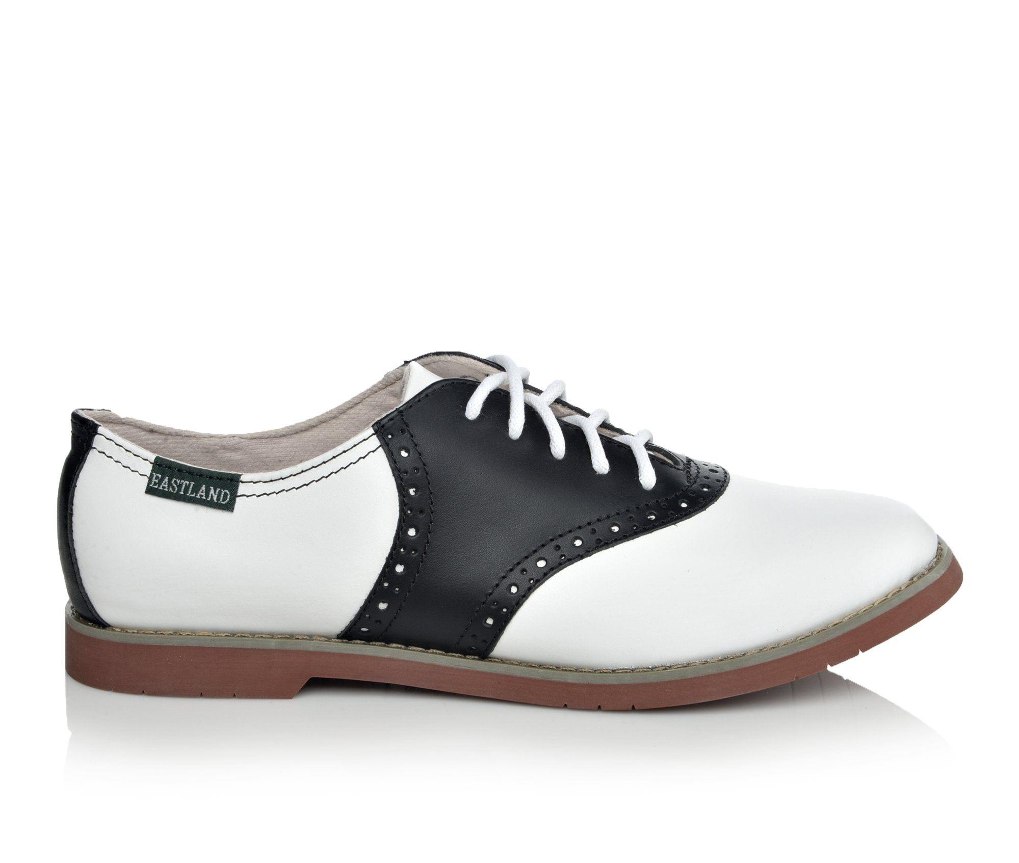 Eastland Sadie Women's Shoe (White Leather)