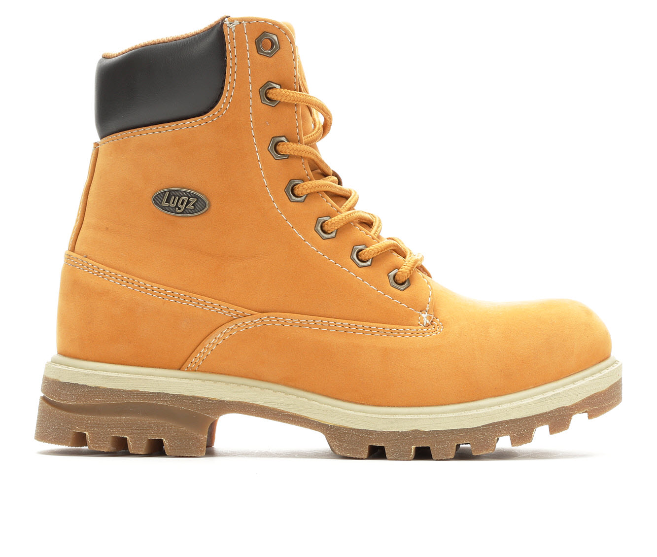 Lugz Empire Hi Water Resistant Women's Boot (Brown Faux Leather)
