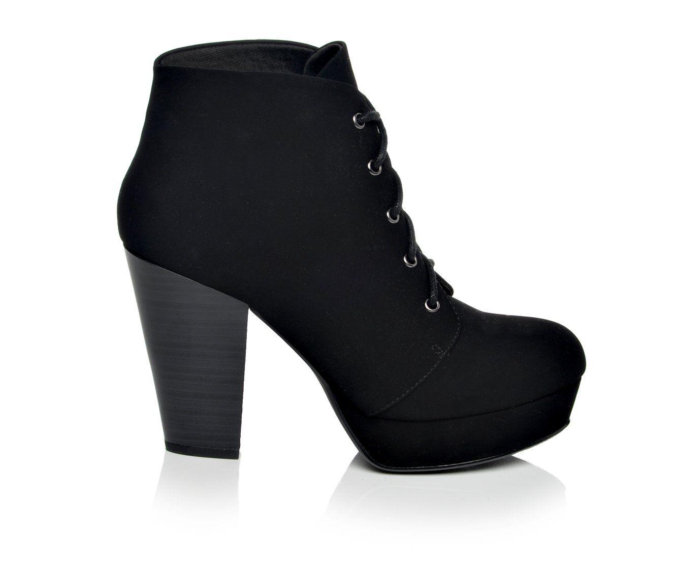 Y-Not Agenda Women's Dress Shoe (Black Faux Leather)