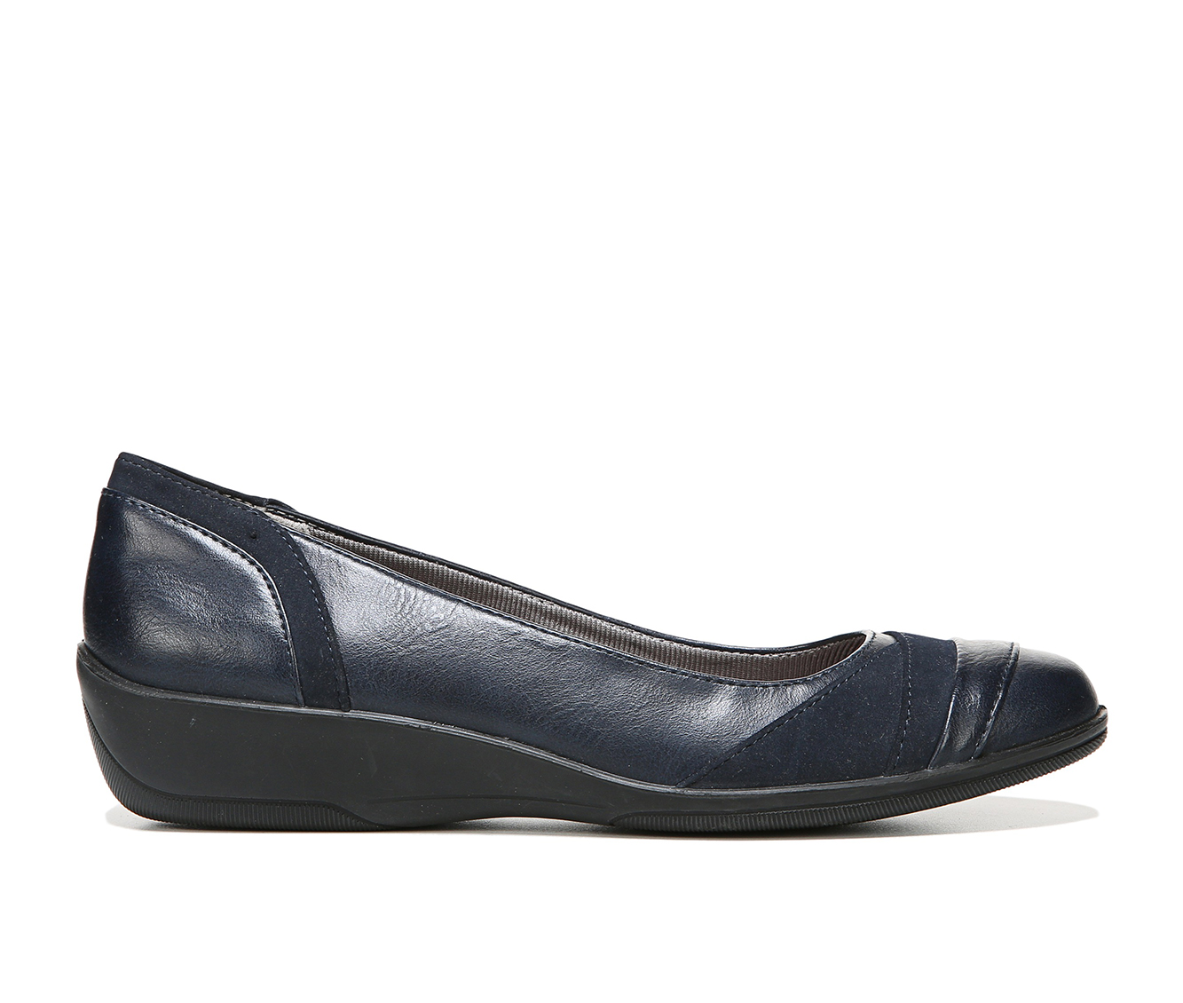 LifeStride Indeed Women's Shoe (Blue Faux Leather)