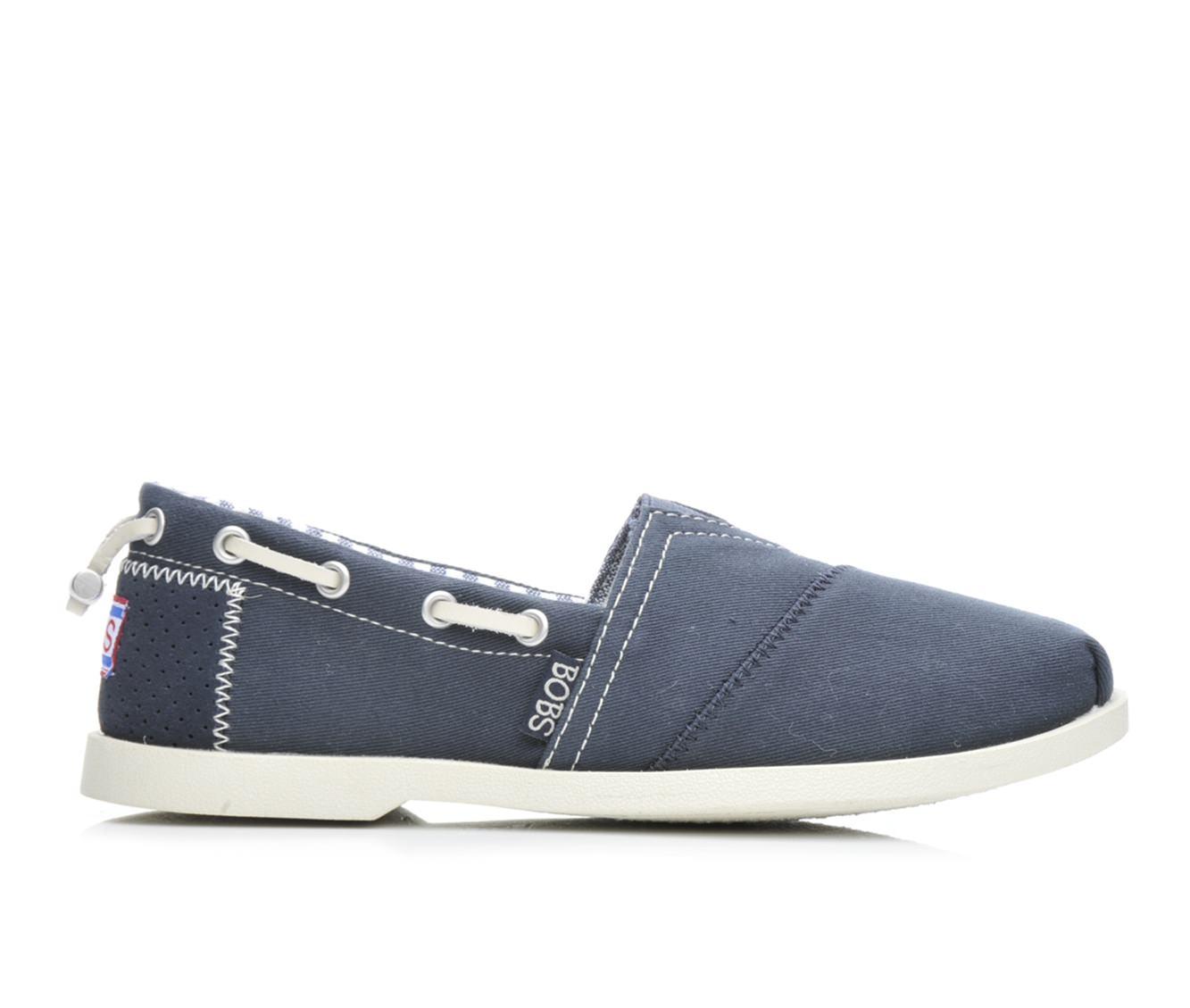BOBS Traveler 33738 Women's Shoe (Blue Canvas)