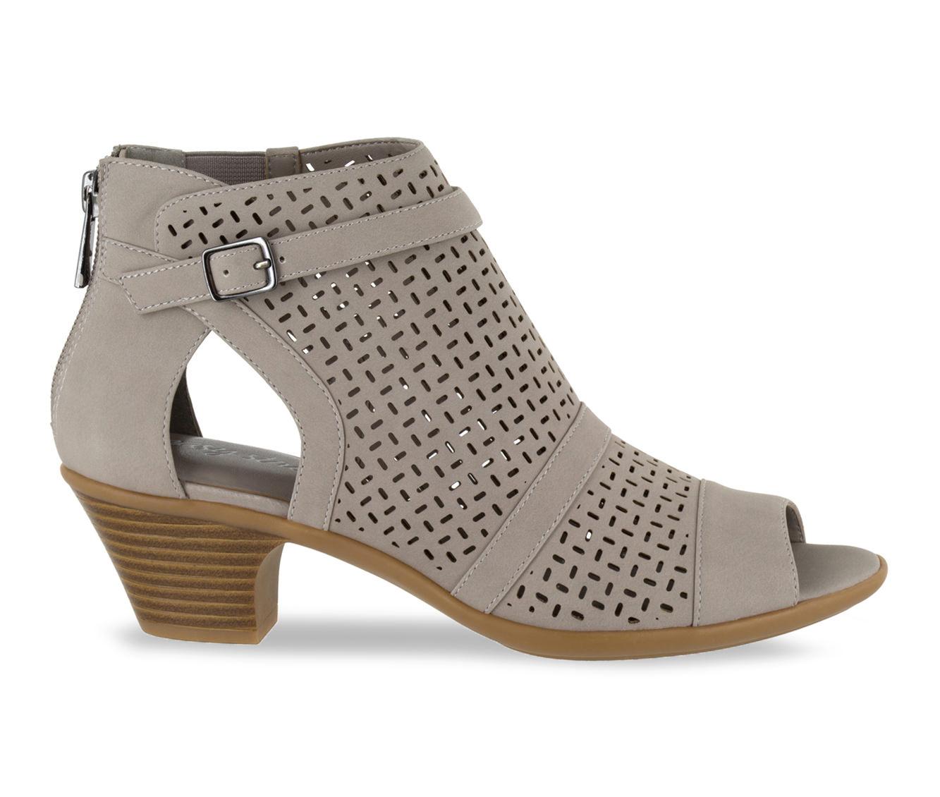 Easy Street Carrigan Women's Dress Shoe (Gray - Faux Leather)