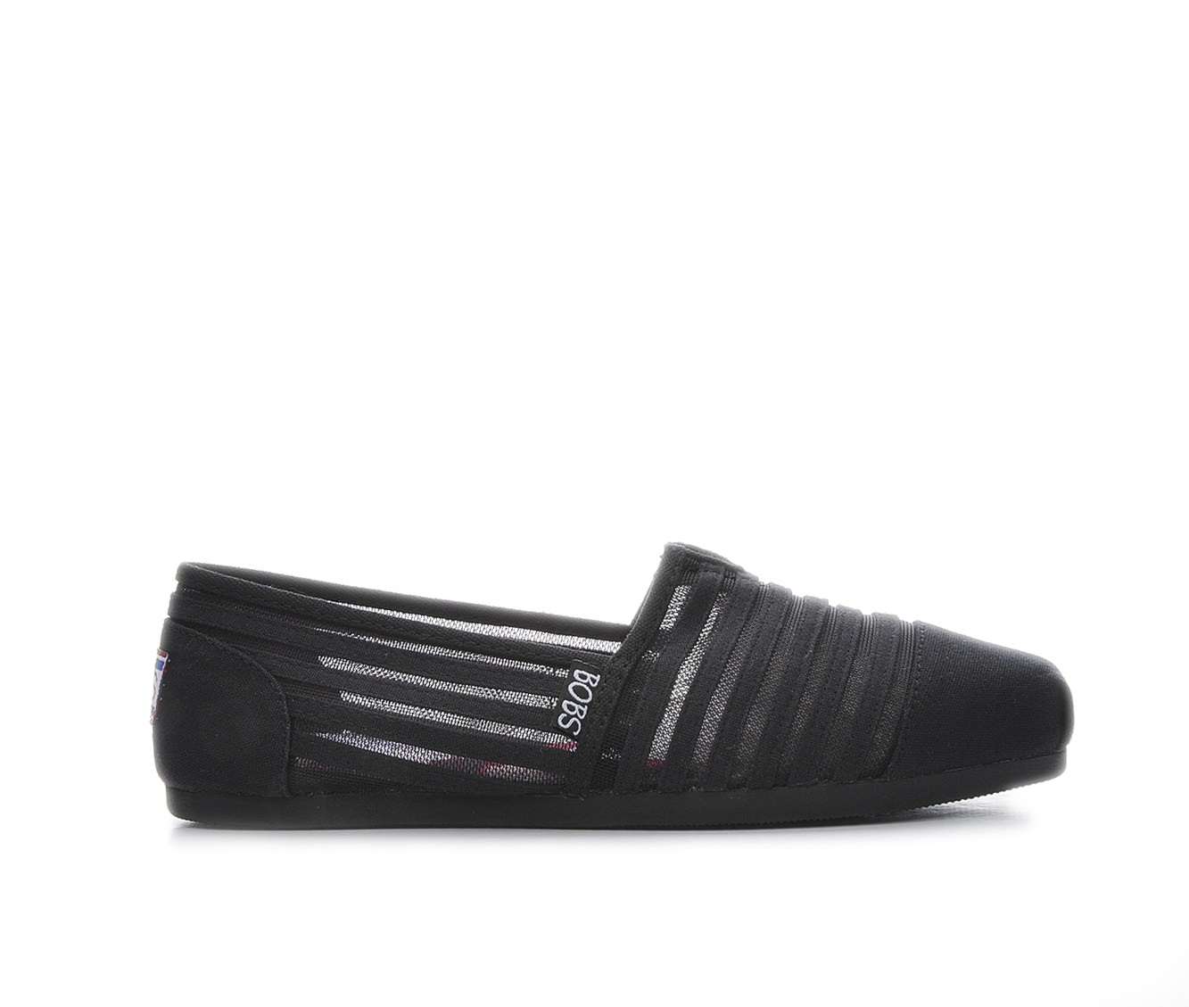 BOBS Adorbs 34245 Women's Shoe (Black Canvas)