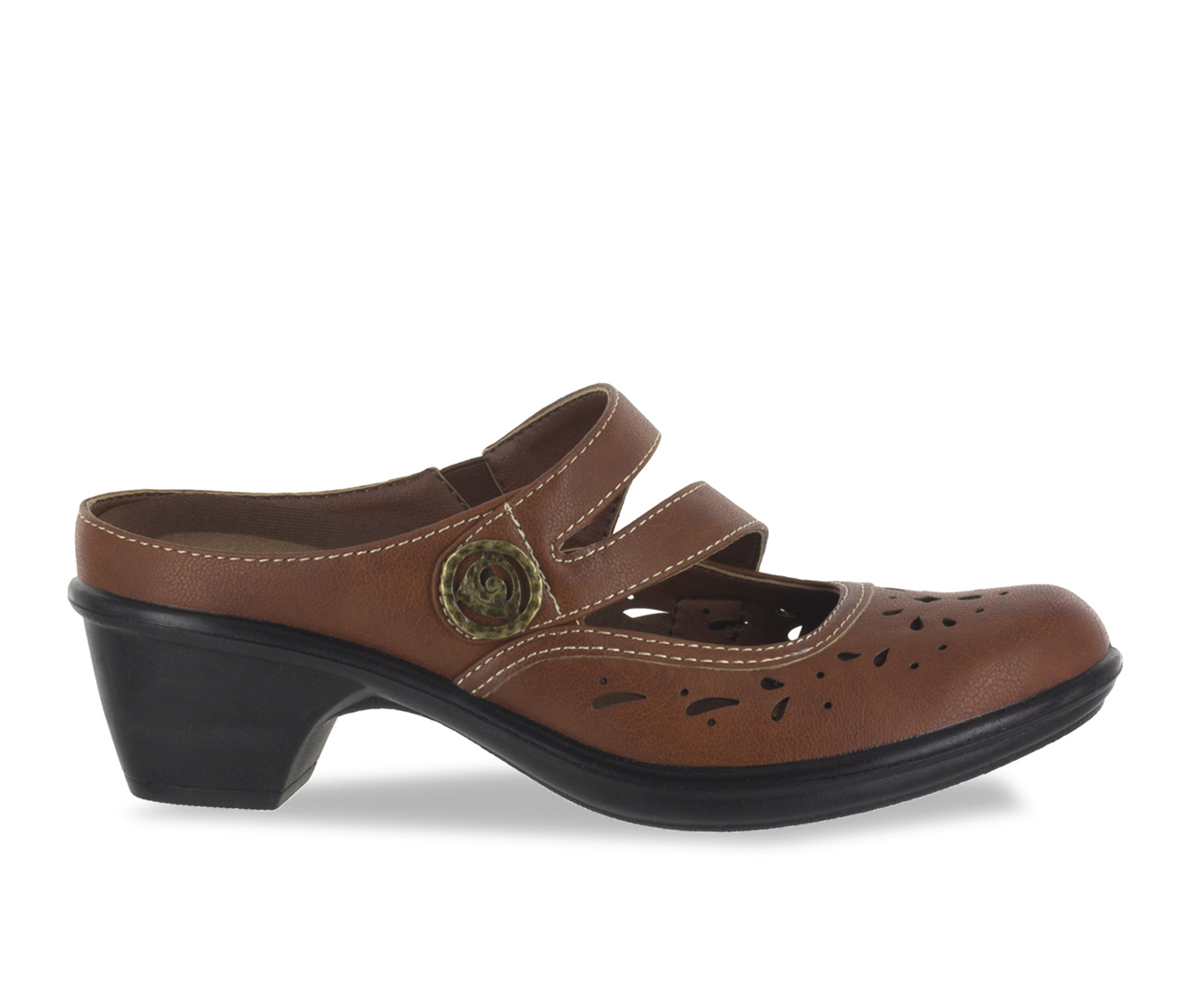 Easy Street Columbus Women's Shoe (Brown Faux Leather)