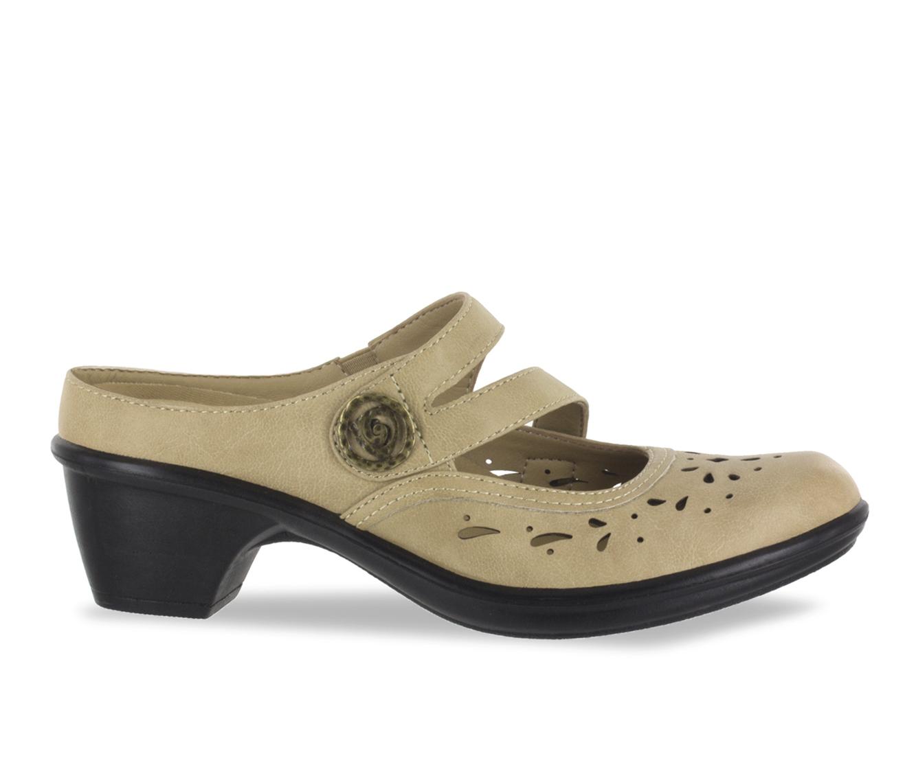 Easy Street Columbus Women's Shoe (Beige Faux Leather)