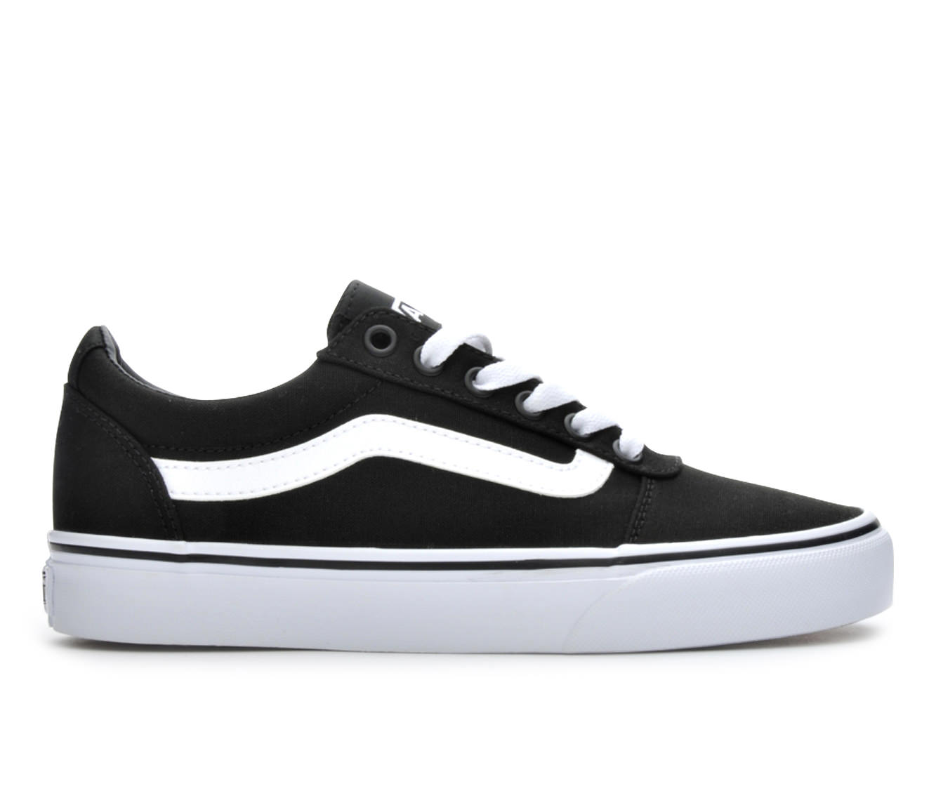 Vans Ward Women's Athletic Shoe (Black)
