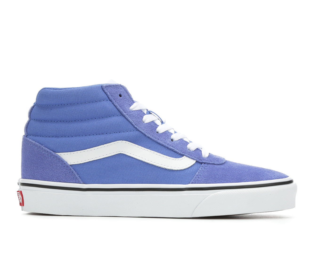Vans Ward Hi Women's Athletic Shoe (Blue)