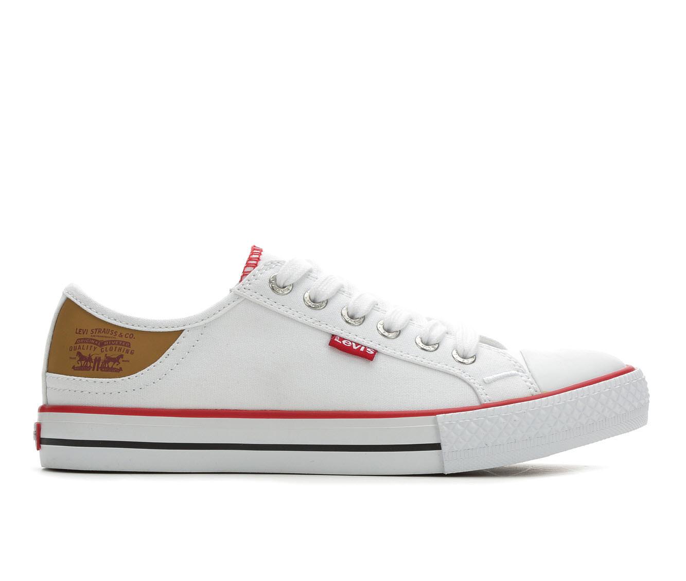 Levis Stan Buck Women's Shoe (White Canvas)
