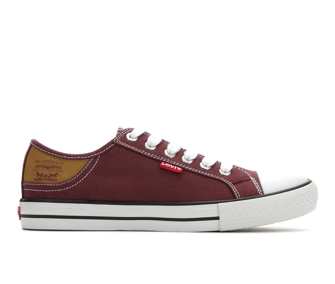 Levis Stan Buck Women's Shoe (Red Canvas)