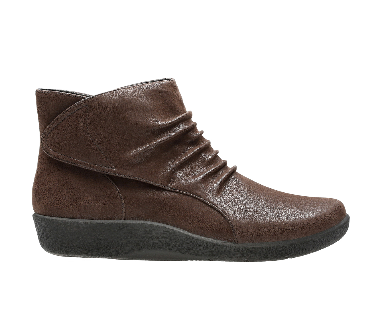 Clarks Sillian Sway Women's Boots (Brown - Canvas)