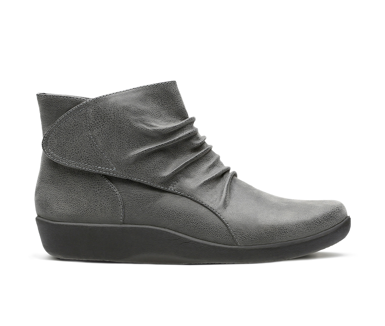 Clarks Sillian Sway Women's Boots (Gray - Canvas)