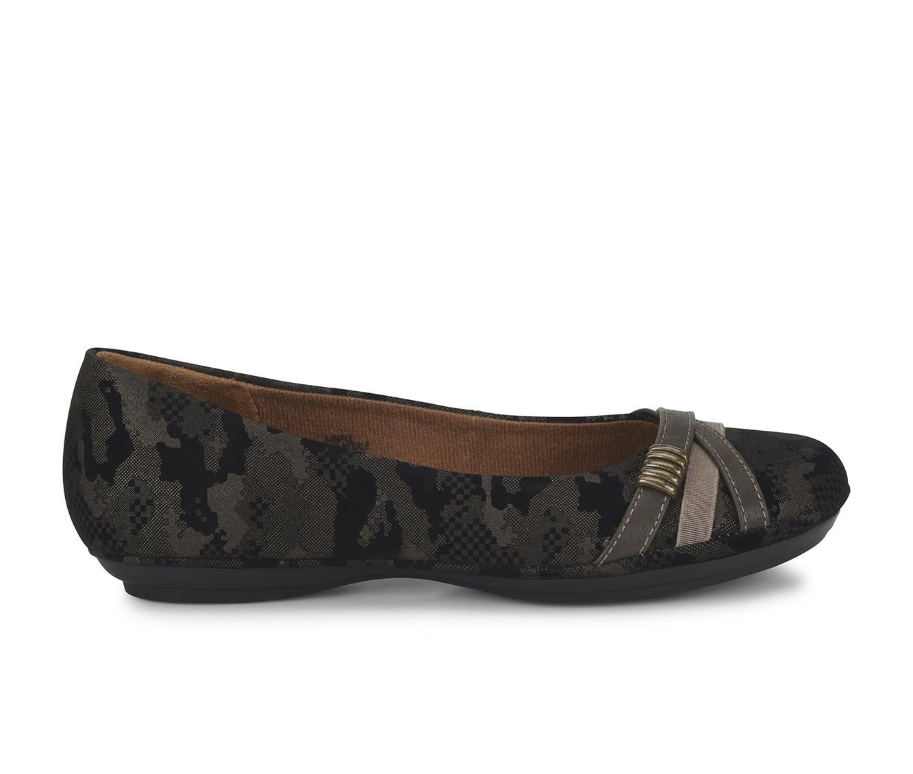 EuroSoft Shaina Women's Shoe (Green Faux Leather)