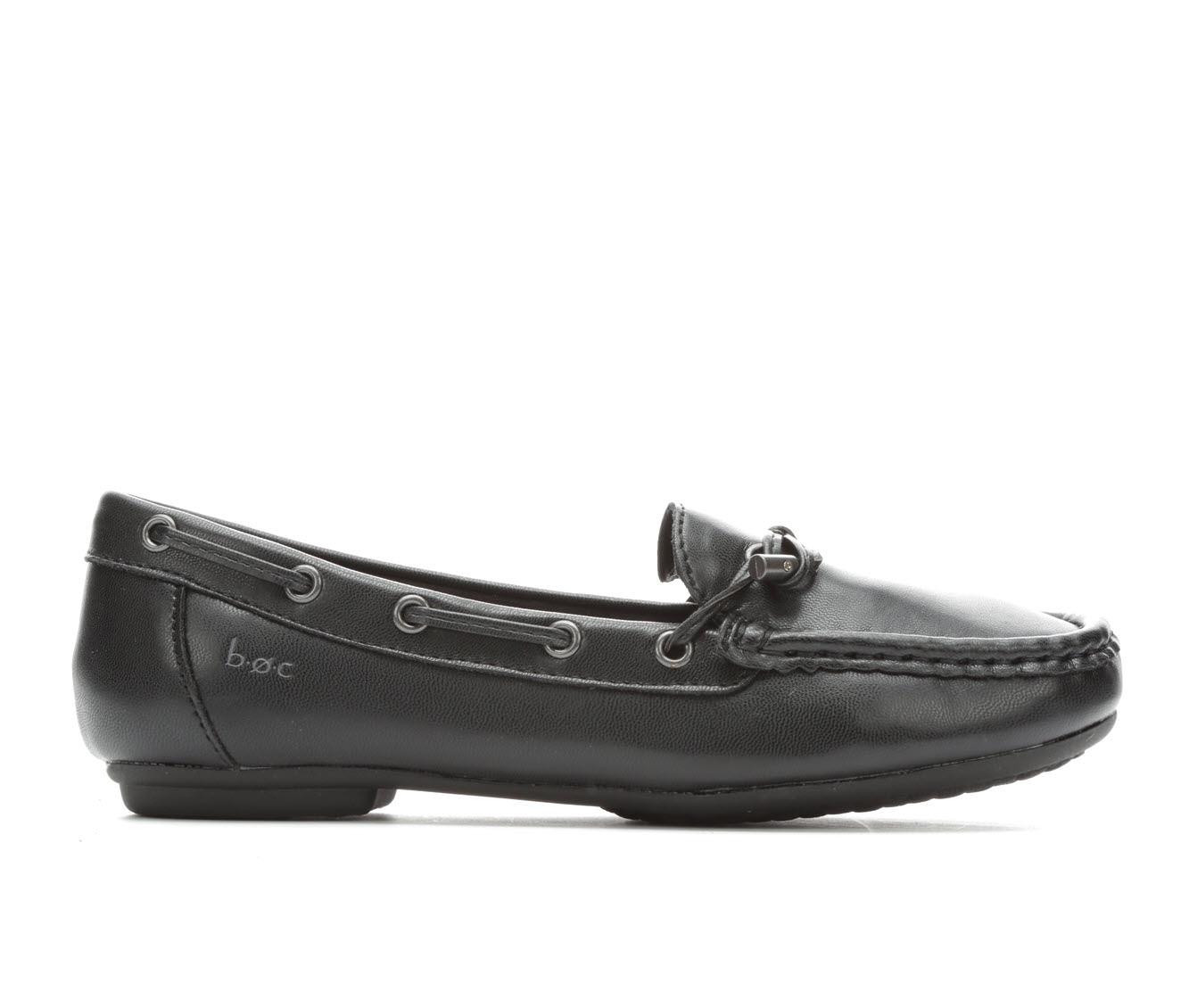 B.O.C. Carolann Women's Shoe (Black Faux Leather)
