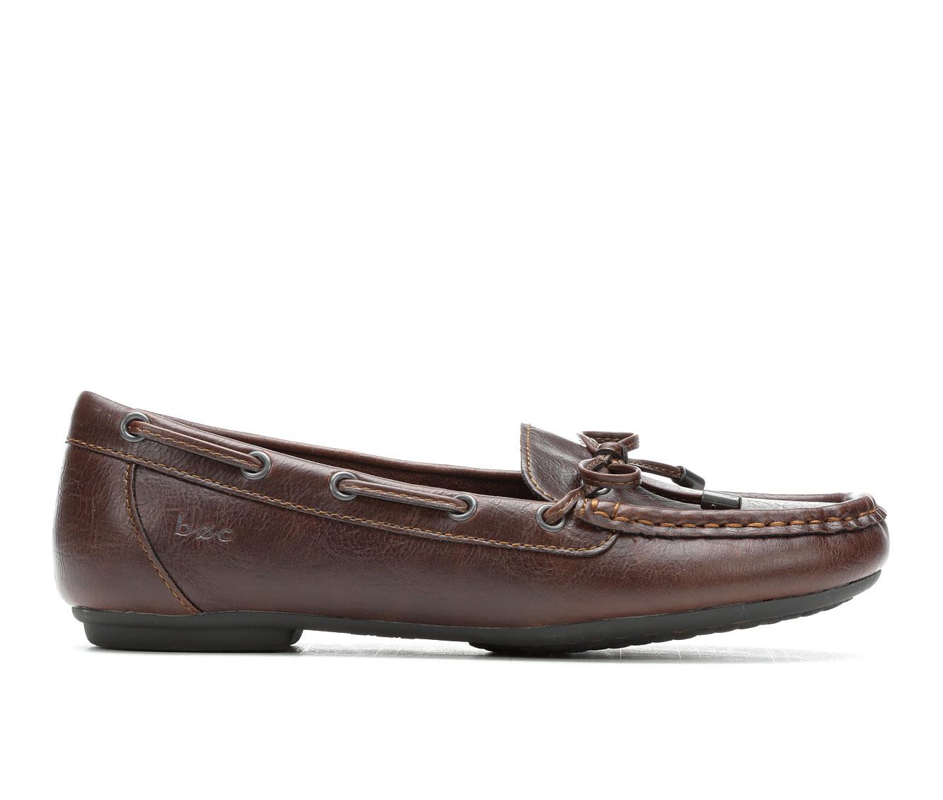 B.O.C. Carolann Women's Shoe (Brown Faux Leather)