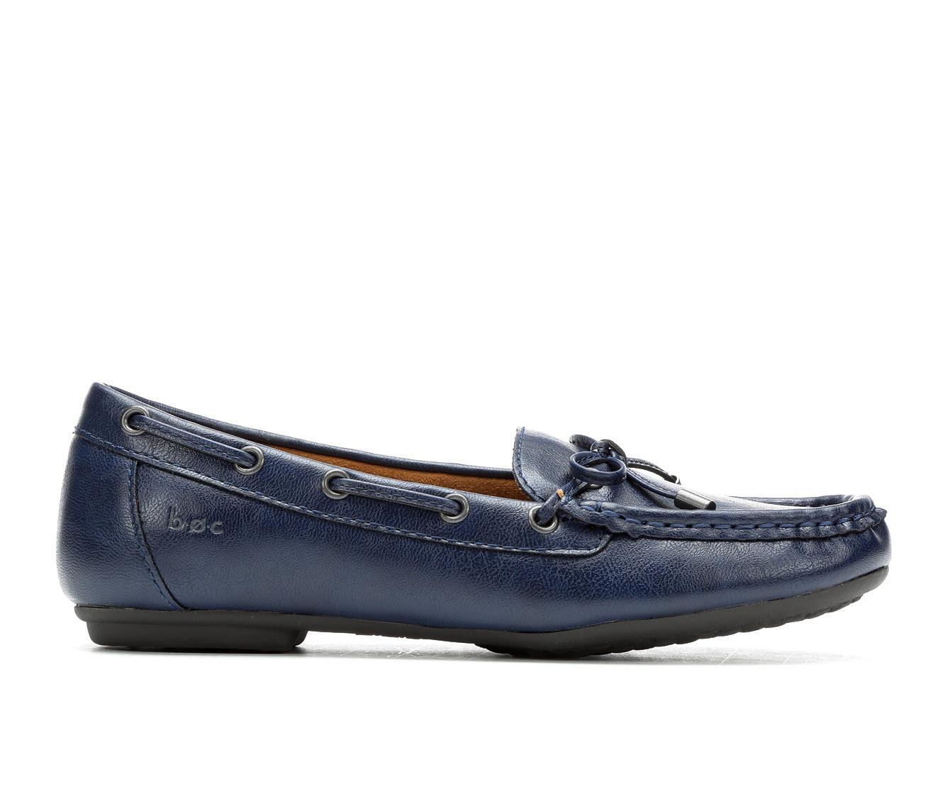 B.O.C. Carolann Women's Shoe (Blue Faux Leather)