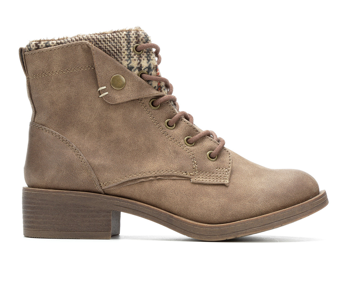 Rock And Candy Junie Women's Boot (Beige Canvas)
