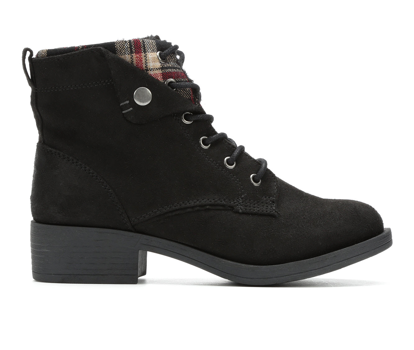 Rock And Candy Junie Women's Boot (Black Canvas)