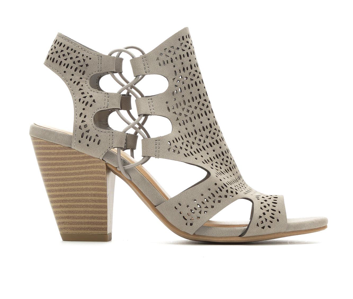 Y-Not Zuka Women's Dress Shoe (Gray Faux Leather)