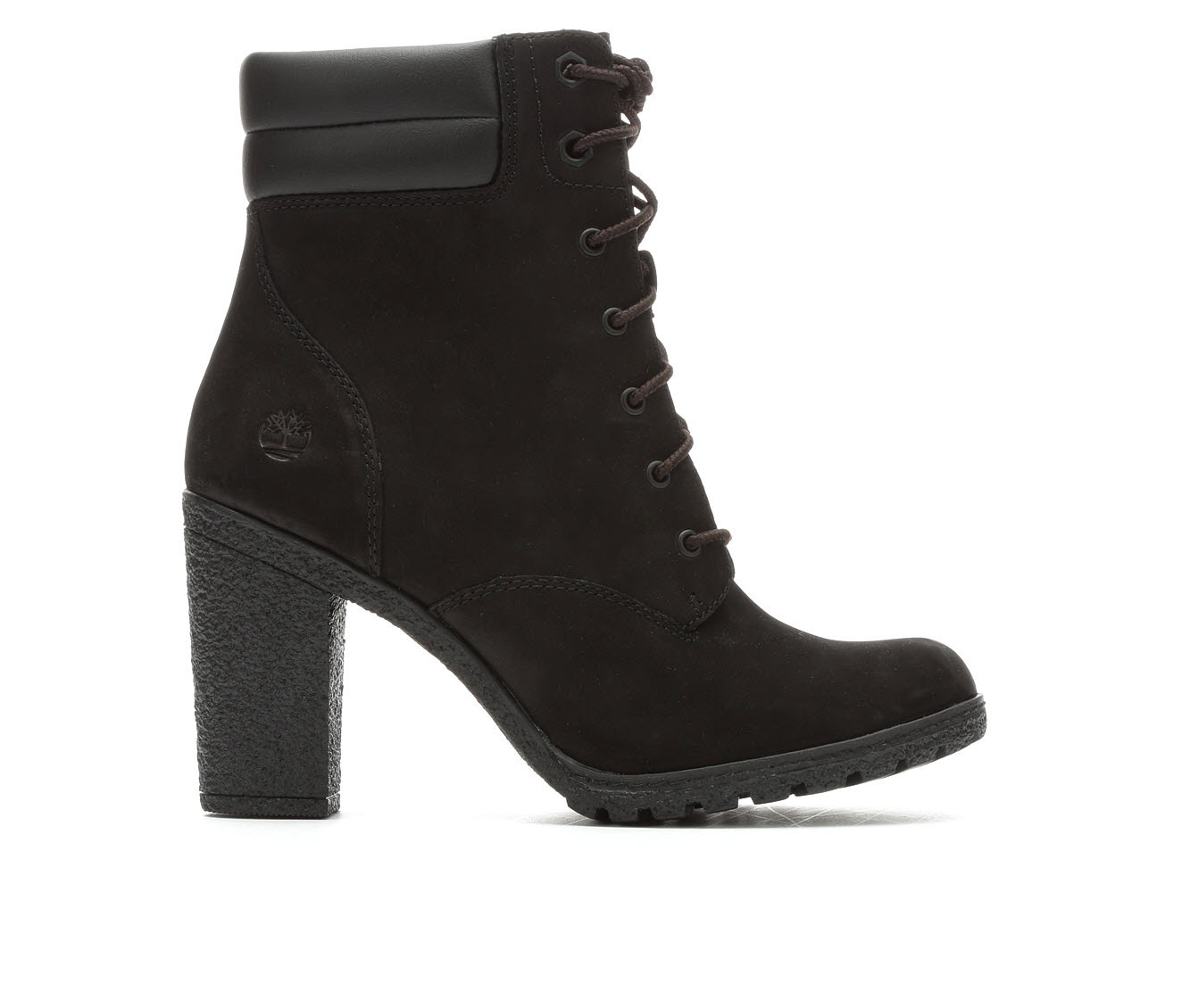 Timberland Tillston Double Collar Women's Boot (Black Leather)