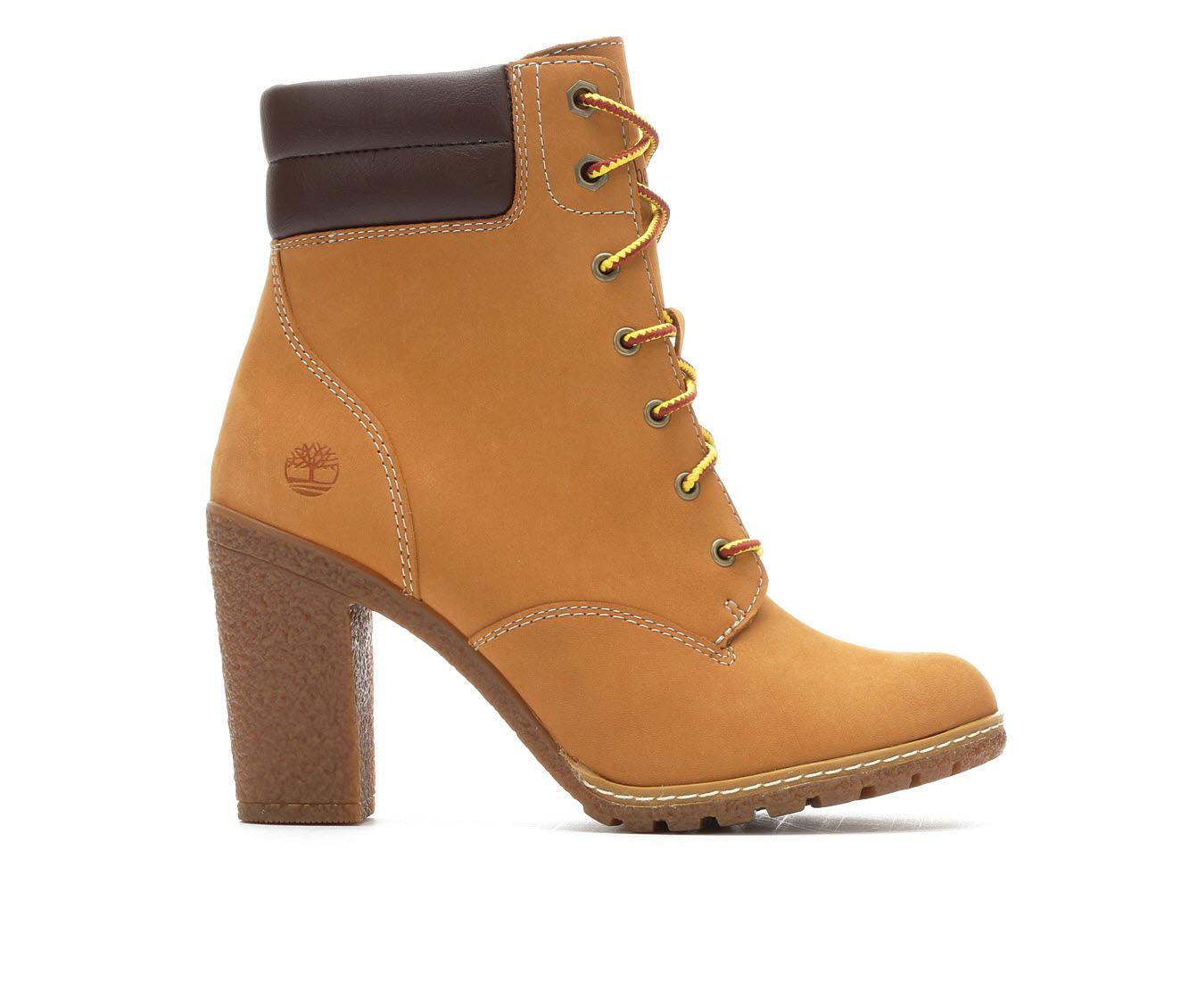 Timberland Tillston Double Collar Women's Boot (Beige Leather)
