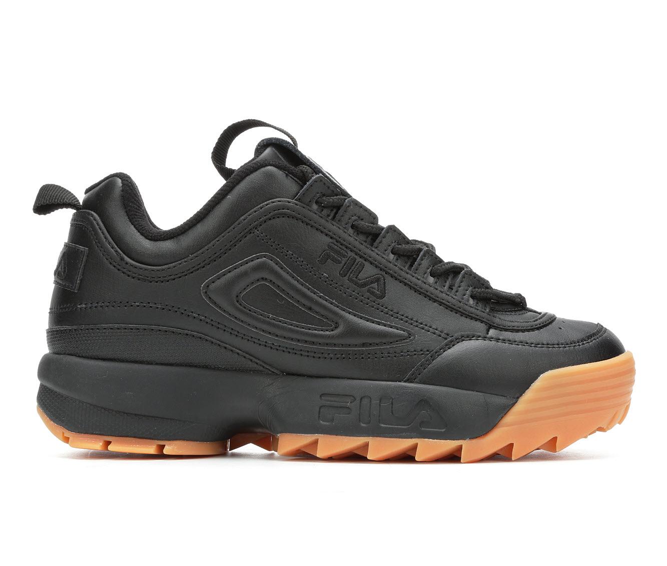 Fila Disruptor II Premium Women's Athletic Shoe (Black)