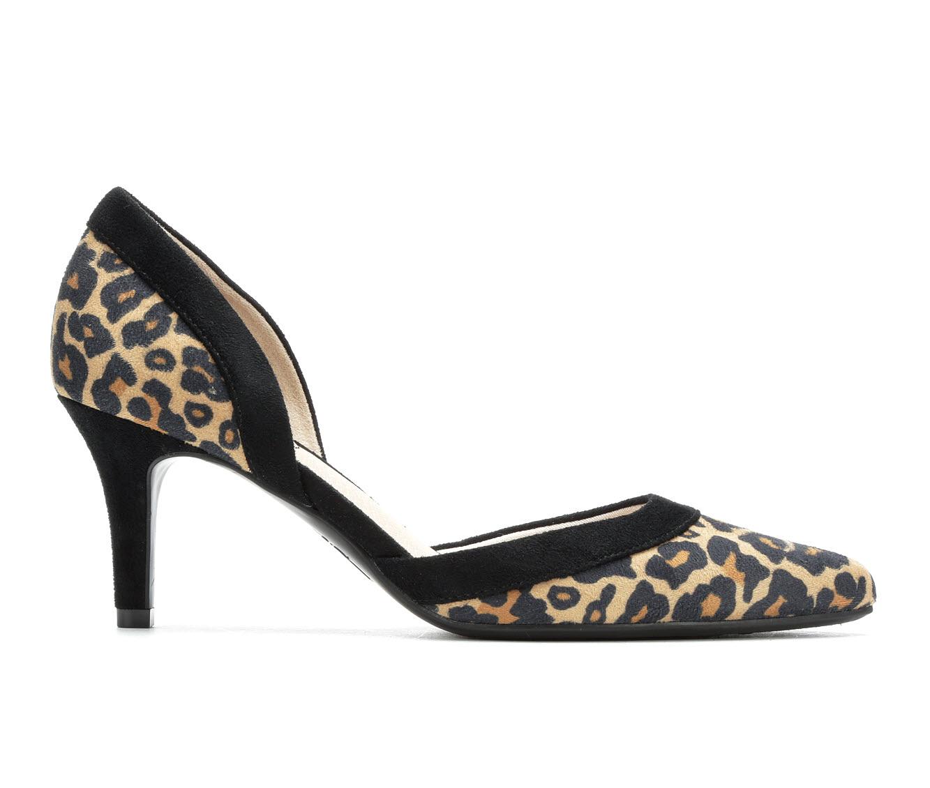 LifeStride Saldana Women's Dress Shoe (Brown Faux Leather)