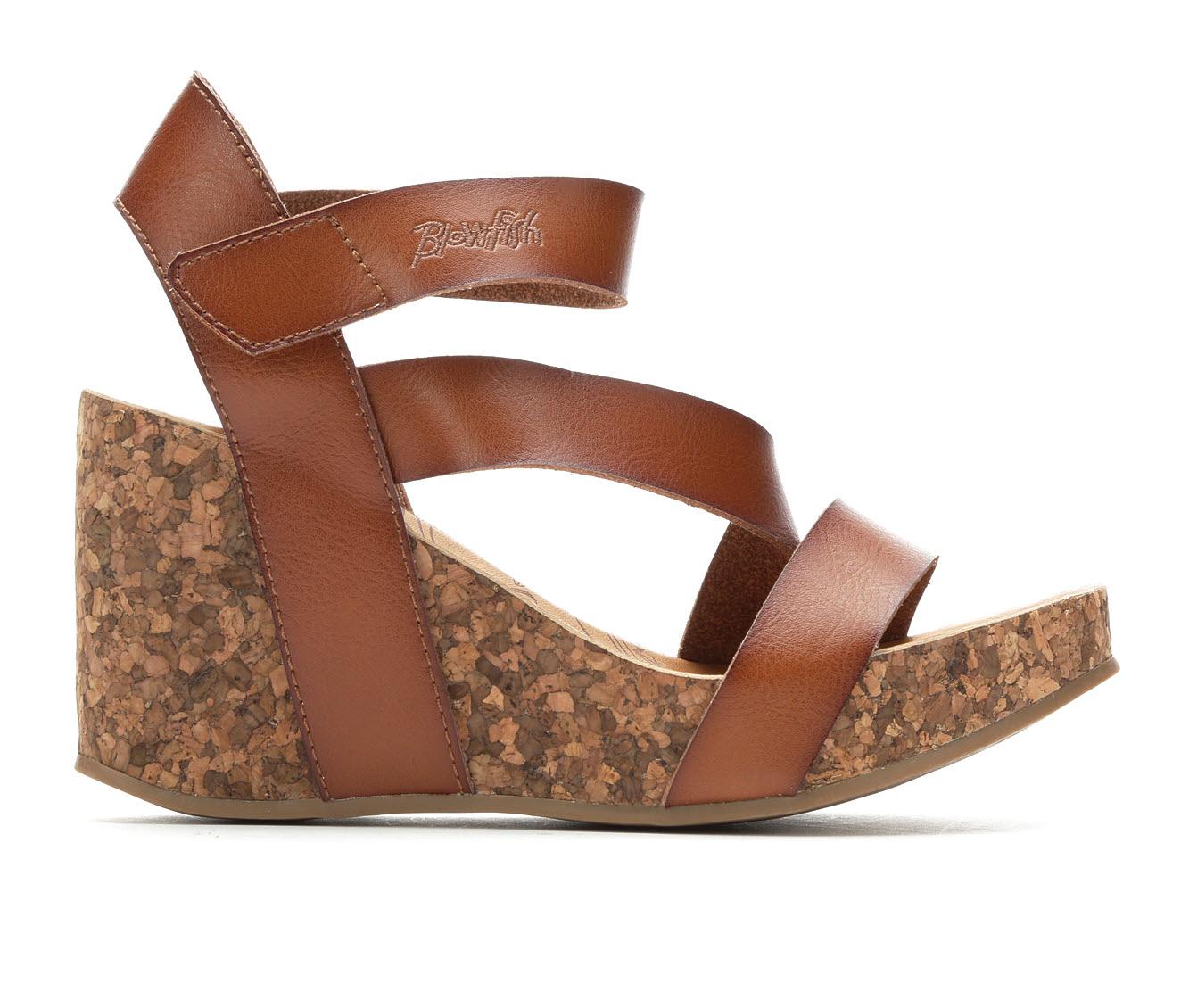 Blowfish Malibu Hapuku Women's Dress Shoe (Brown Faux Leather)