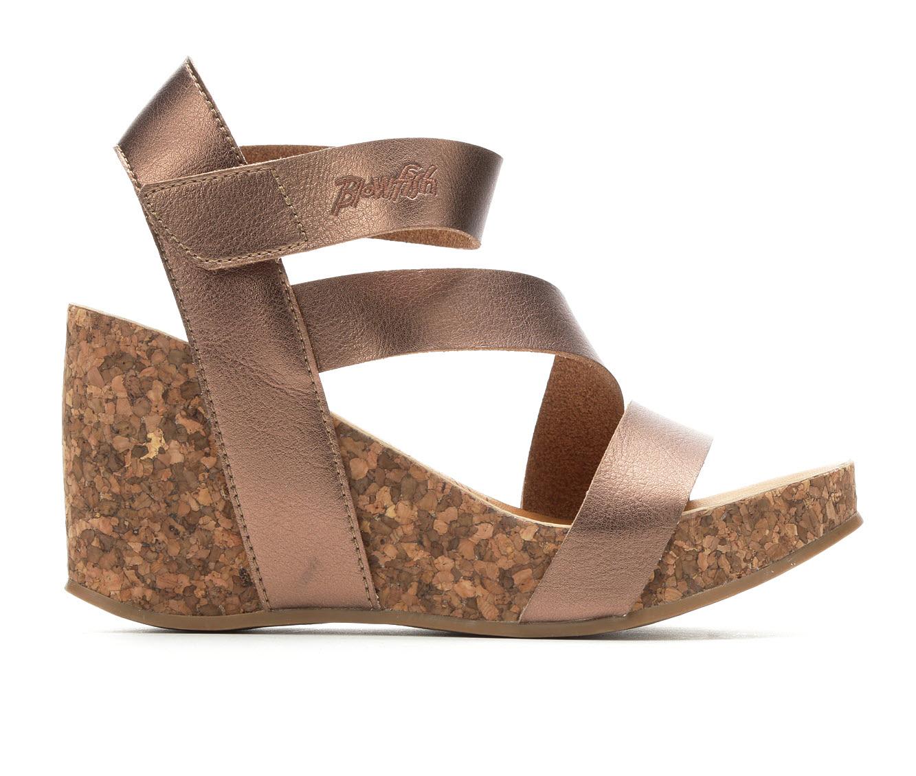 Blowfish Malibu Hapuku Women's Dress Shoe (Gold Faux Leather)