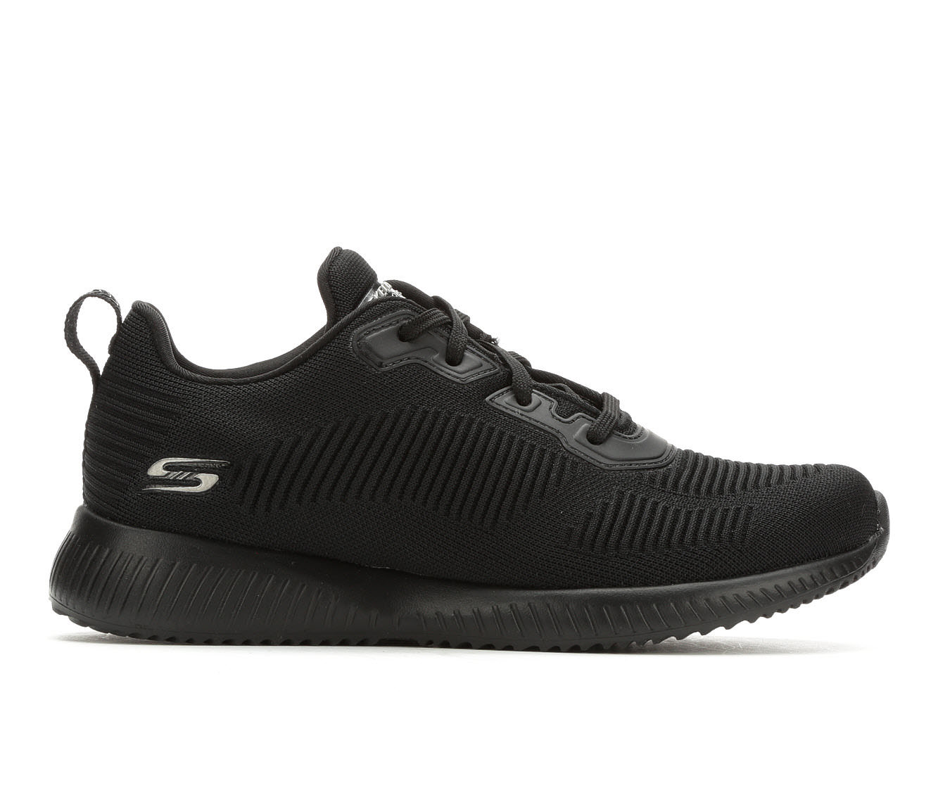 Skechers BOBS Tough Talk 32504 Women's Athletic Shoe (Black)