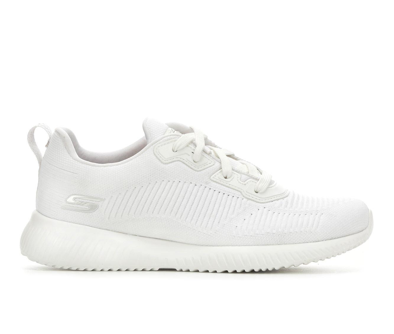 Skechers BOBS Tough Talk 32504 Women's Athletic Shoe (White)