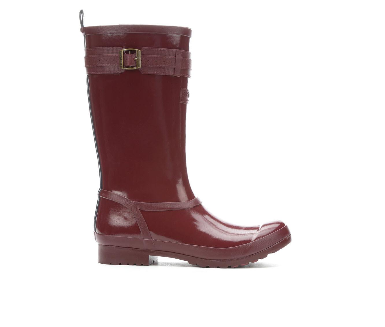 Sperry Walker Atlantic Women's Shoe (Red - Faux Leather)
