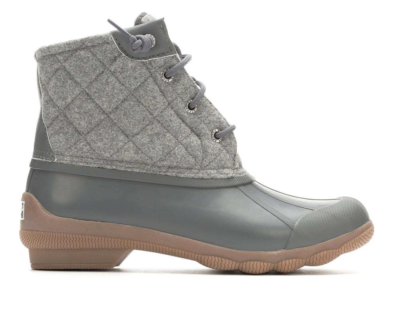 Sperry Syren Gulf Wool Women's Shoe (Gray - Canvas)