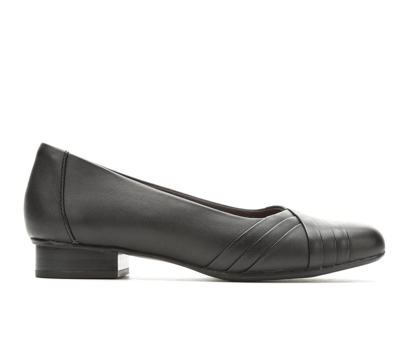 Clarks Juliet Petra Women's Shoe (Black Leather)