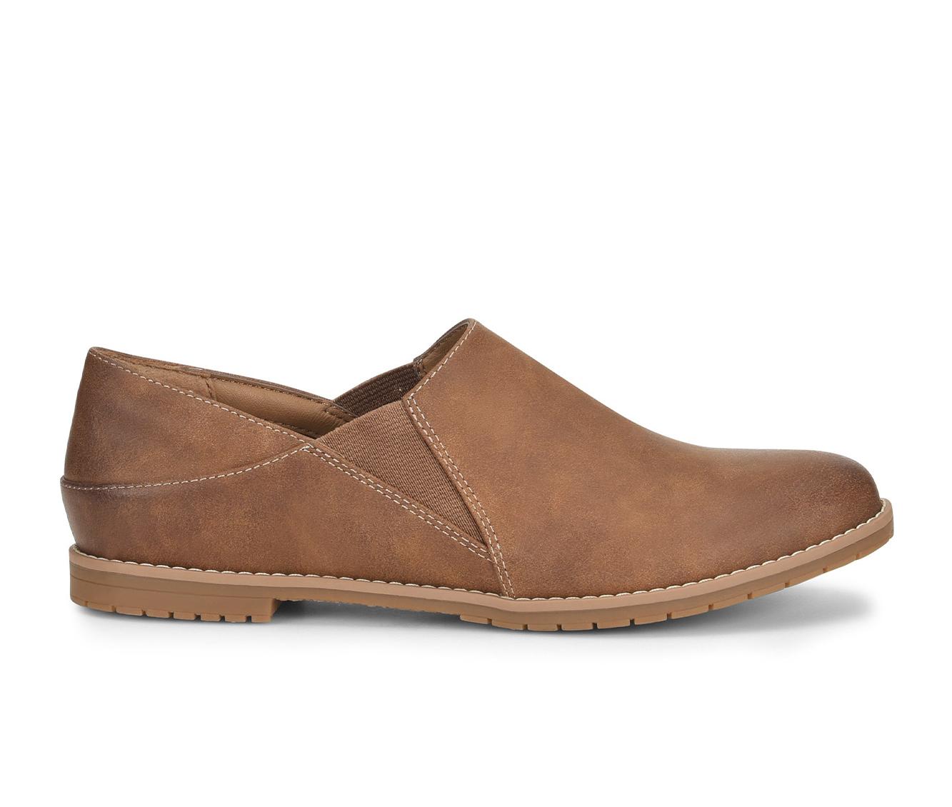 EuroSoft Everett Women's Shoe (Brown Faux Leather)