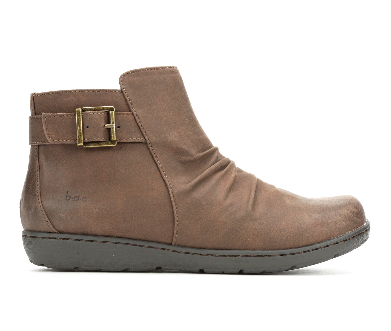B.O.C. Blanche Women's Boots (Brown - Faux Leather)