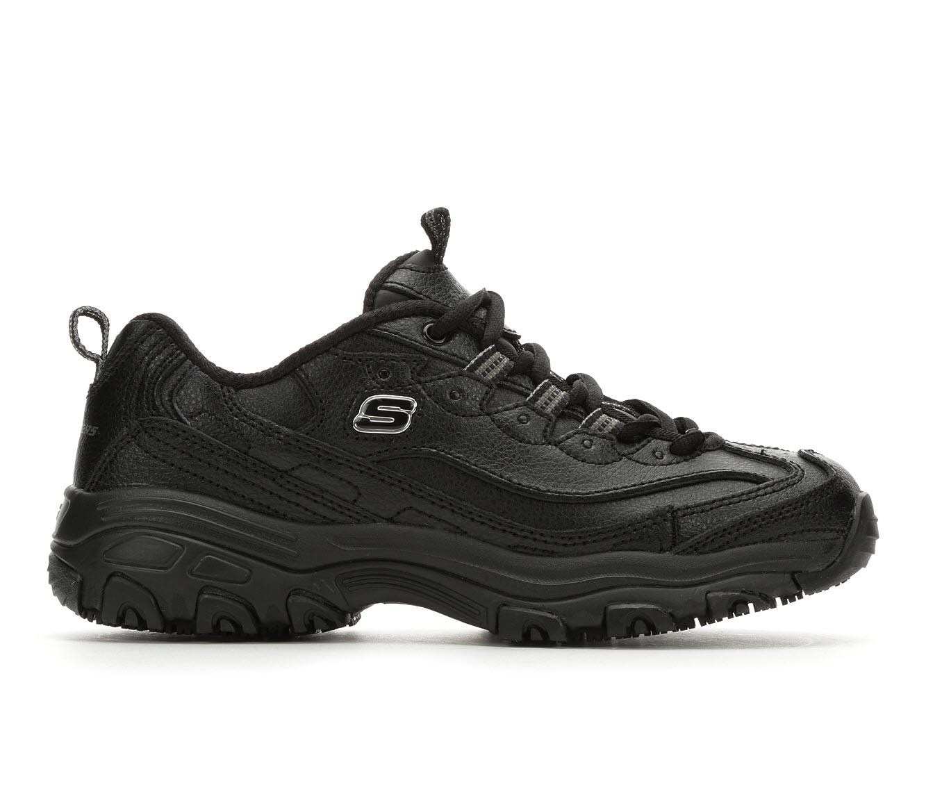 Skechers Work Marbleton 76605 Men's Boot (Black Leather)