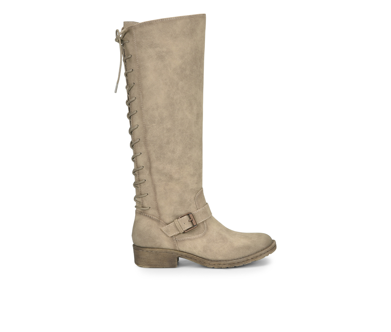 EuroSoft Selden Women's Boot (Beige Faux Leather)