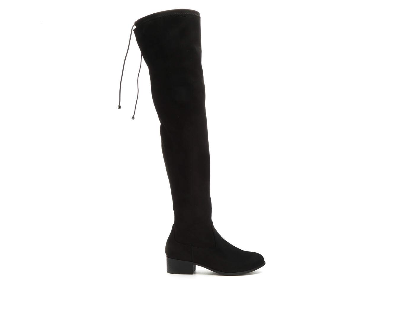 Y-Not Yah Women's Boot (Black Canvas)