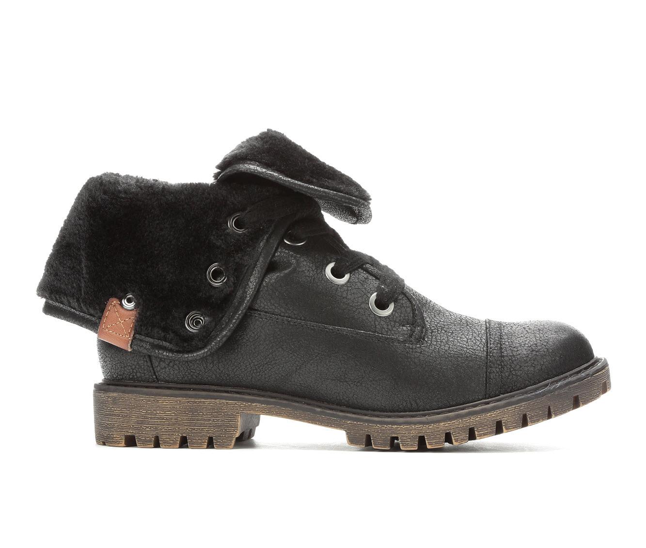Roxy Bruna Women's Boot (Black Faux Leather)