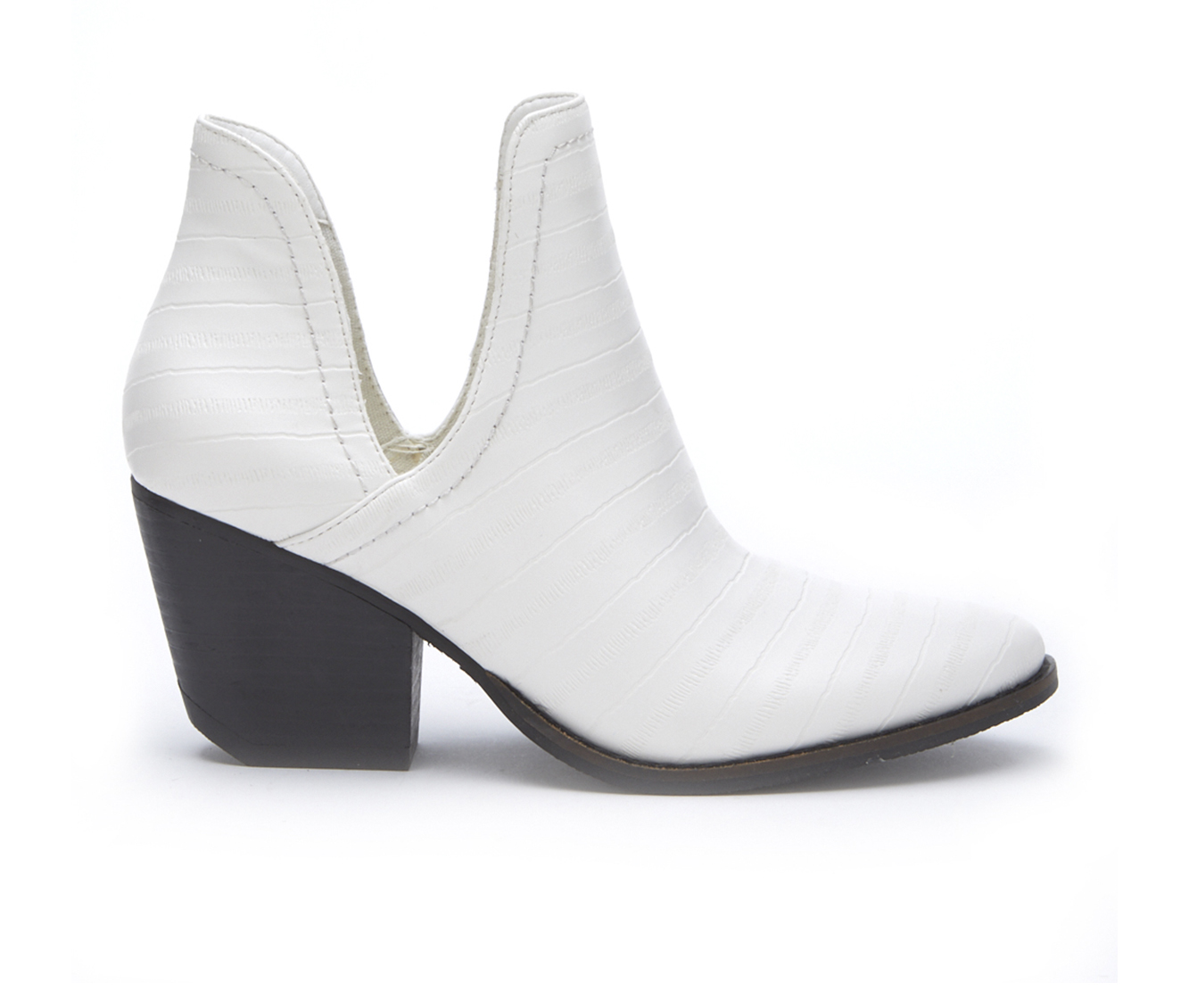 Coconuts Trader Women's Boot (White Faux Leather)