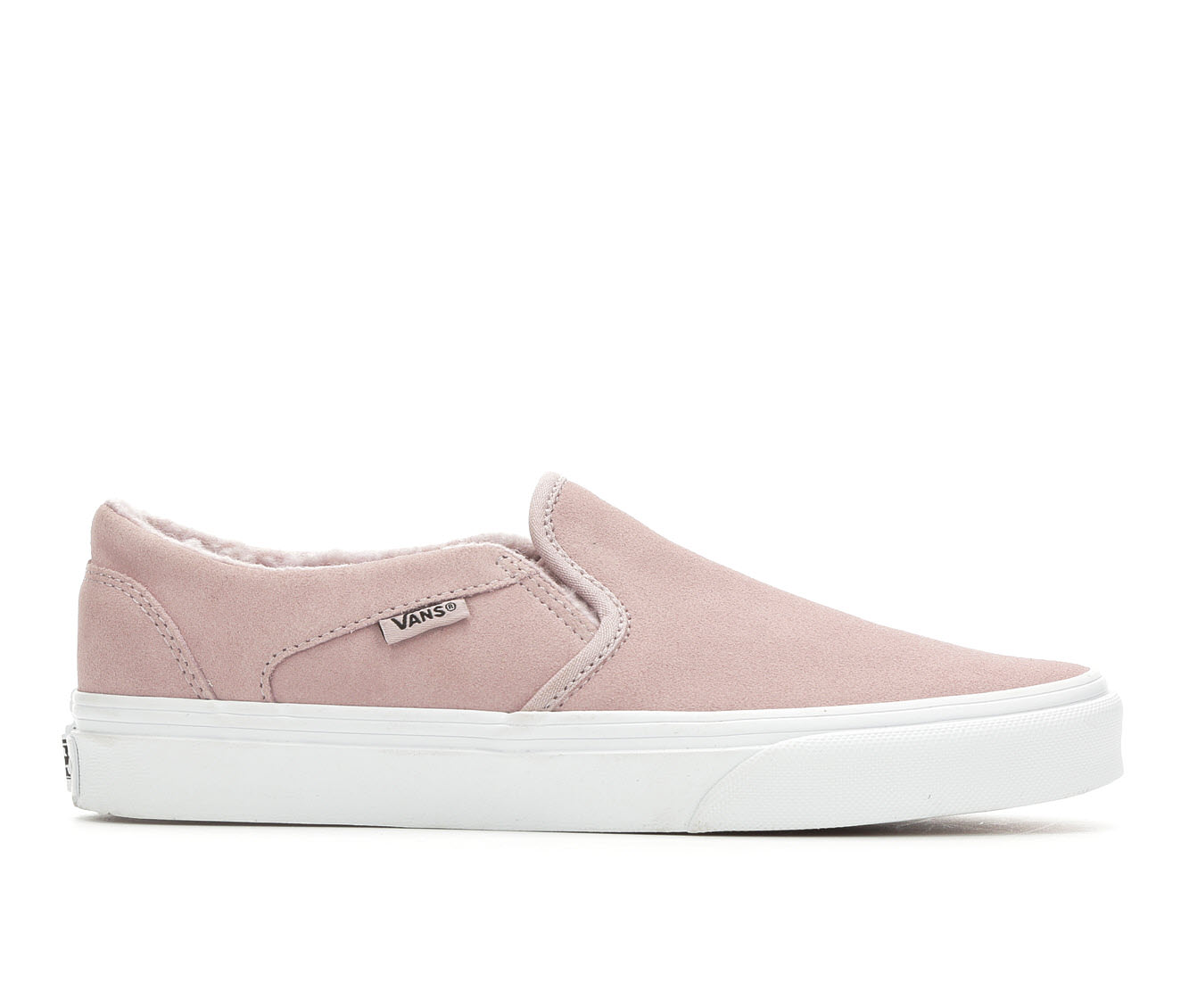 Vans Asher Suede Women's Athletic Shoe (Purple Suede)