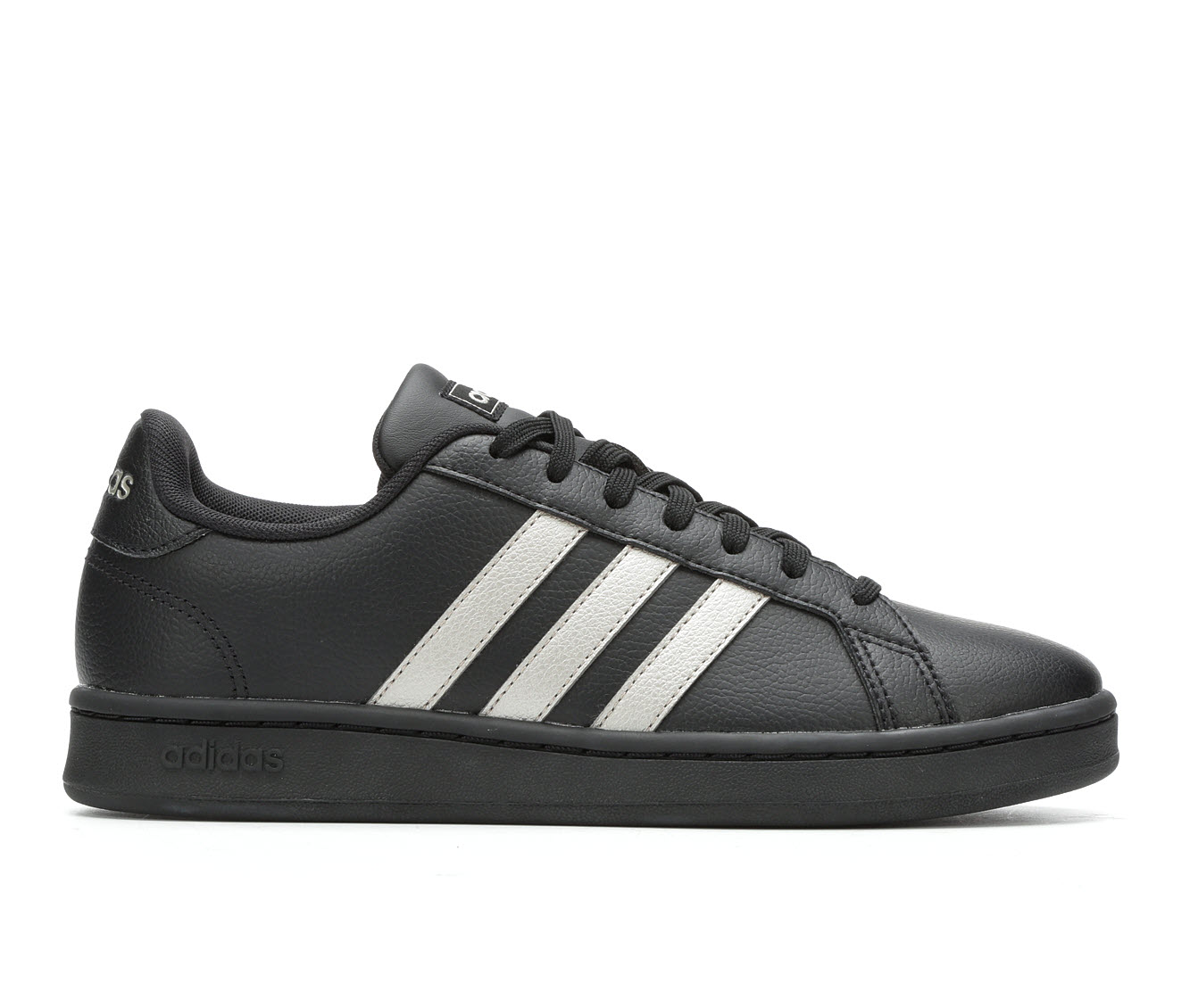 Adidas Grand Court Women's Athletic Shoe (Black)